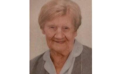 Addio a Maria, la decana del paese originaria di Gradella è morta a 102 anni