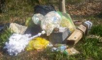 Rifiuti abbandonati nel Parco del Serio, multato il responsabile