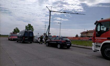 Infortunio sul lavoro a Pagazzano, 46enne muore schiacciato sul cantiere