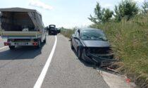 Schianto in via Gaspare Orsi, tre feriti trasportati in ospedale