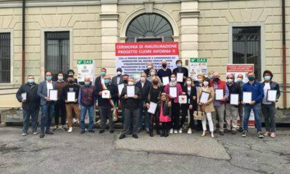 Le aziende di Spirano donano al paese tre defibrillatori