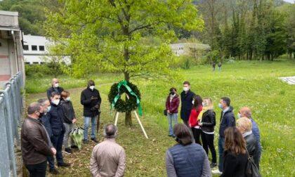 La Lega a Pontida ricorda i militanti morti per Covid