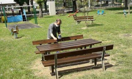 Restyling del parco del centro sportivo