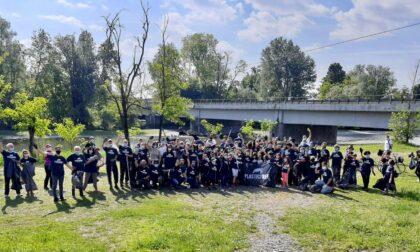 Plastic free day, lungo le sponde del Serio oltre cento volontari