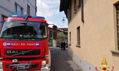 Principio d'incendio in cucina, arrivano i Vigili del fuoco