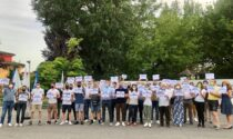"""La Lega protesta a Romano dopo gli ultimi vandalismi: """"Basta degrado, più sicurezza"""""""