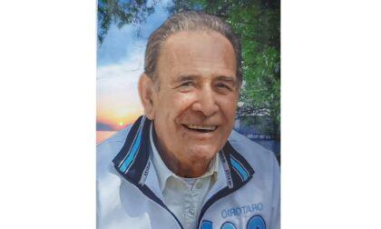Addio all'ex presidente dell'Avis Giancarlo Zanoni