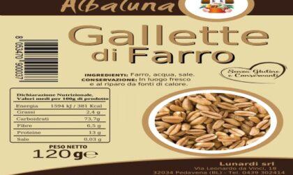 Allergene non dichiarato, gallette di farro richiamate: dentro c'era il glutine