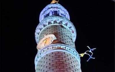 I Cafélulé e la magia di danzare sospesi, anche a 90 metri d'altezza