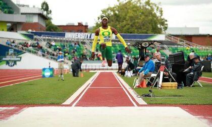 Emmanuel Ihemeje vola oltre i 17 metri nel salto triplo ad Eugene