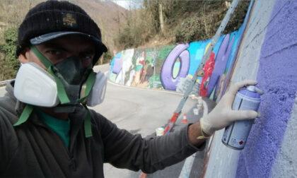 Un corso di murales per combattere il disagio da isolamento