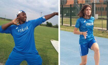 Alessandra ed Emmanuel: dall'Atletica Estrada di Treviglio agli Europei