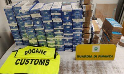 Sigarette di contrabbando, maxi sequestro a Orio