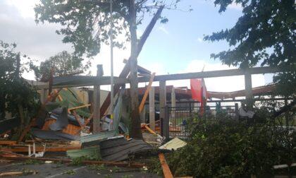 """A Lurano, sulle macerie dello """"Scaravaggi"""". L'ex sindaco Bugini: """"E' il secondo giorno più brutto della mia vita"""""""