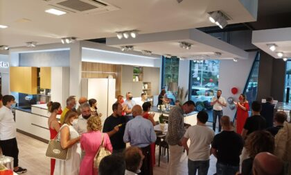 Inaugurato lo spazio Veneta Cucine di Creazioni d'arredo a Treviglio