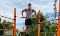 Geromina, installata nuova area fitness
