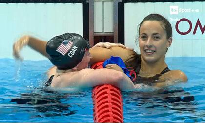Giulia Terzi conquista un argento nei 400 stile libero