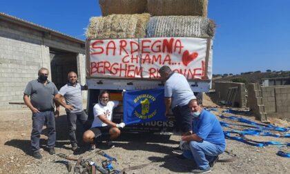 La Sardegna chiama e Cologno risponde: fieno per sostenere le aziende bruciate