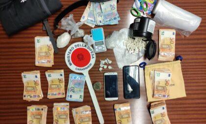 Spaccio di droga nella bergamasca, nei guai un 34enne tunisino e un 62enne bergamasco