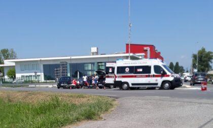 Quattro incidenti in poche ore sulle strade della Bassa
