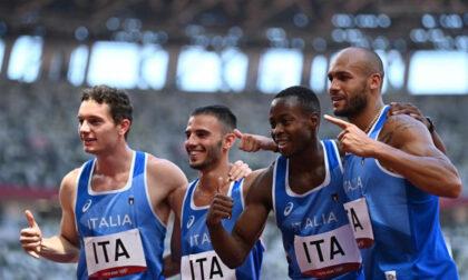 Staffetta azzurra magica, oro olimpico nella 4x100 maschile