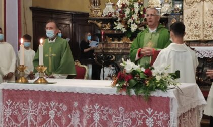 Don Marco Leggio fa il suo ingresso in parrocchia, caloroso benvenuto dei fedeli