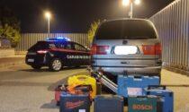 Task force dei carabinieri contro i furti, già fermate due coppie di ladri