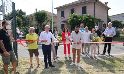 Inaugurato il campo da calcio in memoria di Casati e Modanesi