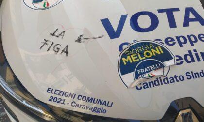 Vandalizzate la sede elettorale e l'auto della Lega