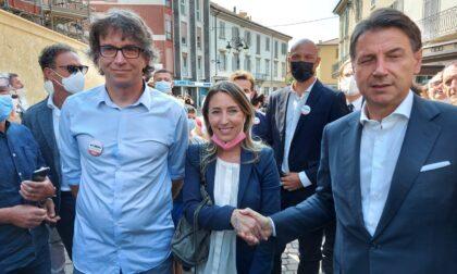 """Conte a Treviglio: """"So che qui stanno costruendo 20-30-40 supermercati... A quanti dobbiamo arrivare?"""""""