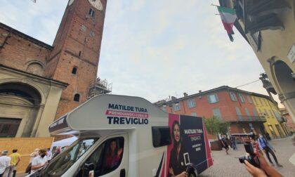 Campagna elettorale in camper per  Tura (inaugurazione... col botto)
