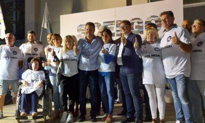 """Salvini a Treviglio: """"Imeri vincerà al primo turno"""""""