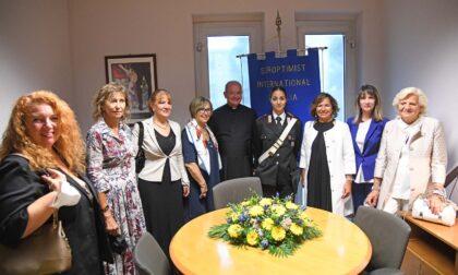 """Inaugurata in caserma la """"Stanza tutta per sé"""" per supportare le donne vittime di violenza"""