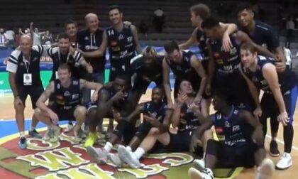 Basket, strepitosa Treviglio: è finale di Supercoppa