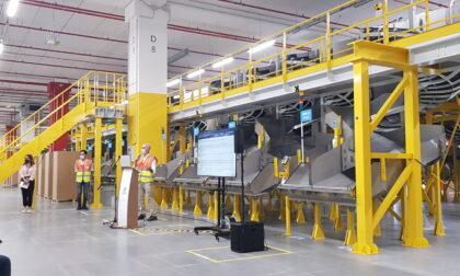 Il centro di distribuzione Amazon di Cividate al Piano è ufficialmente operativo