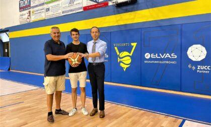 Visconti Basket: Giovanni Venturati è il nuovo presidente