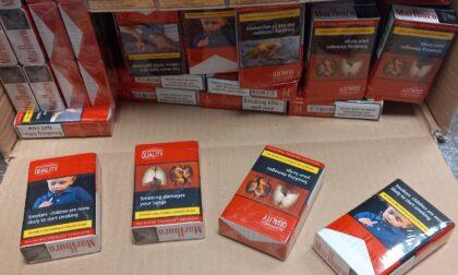 Da Atene a Orio 3000 pacchetti di sigarette di contrabbando