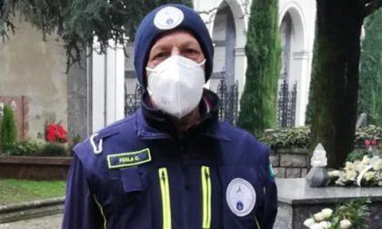Vailate piange il volontario Cesare Ferla
