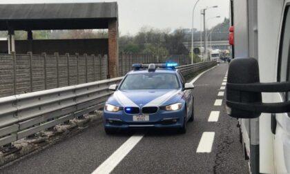Incidente sulla Brebemi, nel camion la Polizia gli trova eroina e marijuana