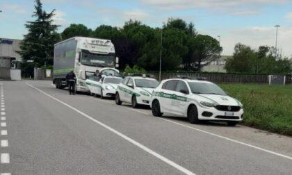 Tir sfreccia a 105 km all'ora: tremila euro di multa a Zingonia