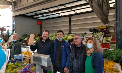 Salvini a Caravaggio tuona contro il Green Pass (e bacchetta Mangoni)
