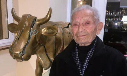 Addio al centenario Giacomo Zanda, fondò la più antica associazione trevigliese