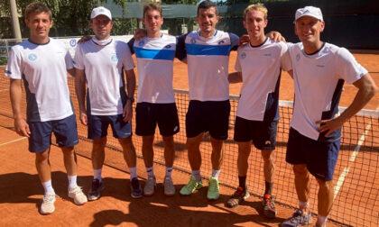 Il Tennis club Treviglio fa il suo esordio sui campi del Modena